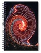 Shell Swirl Spiral Notebook