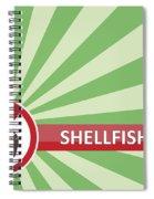 Shellfish Free Banner Spiral Notebook
