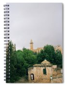 Historic Jerusalem Spiral Notebook