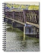 Shelton Derby Railroad Bridge Spiral Notebook