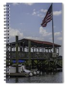 Shem Creek Bar And Grill Spiral Notebook