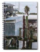 Shem Creek Dockage Spiral Notebook