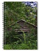 Shenandoah Log Cabin Spiral Notebook