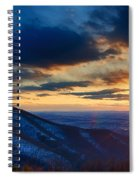 Shenandoah Sunset Spiral Notebook