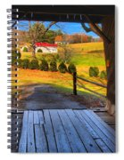 Shenandoah Virginia Covered Bridge Spiral Notebook