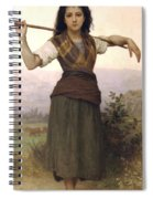 Shepherdess Spiral Notebook