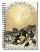 Shepherds And Angel Spiral Notebook