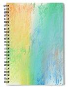 Sherbet Abstract Spiral Notebook