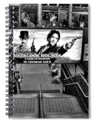 Sherlock Holmes At The Station Spiral Notebook