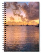Sherri's Sunset Spiral Notebook
