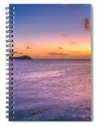 Sherri's Sunset St. Lucia Spiral Notebook