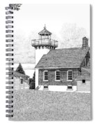 Sherwood Point Lighthouse Spiral Notebook