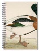 Shieldrake Spiral Notebook