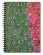 Shifting Into Winter Spiral Notebook
