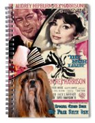 Shih Tzu Art - My Fair Lady Movie Poster Spiral Notebook