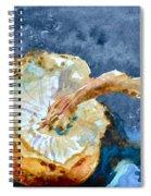 Shiitake Spiral Notebook