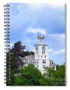 Shiloh Chapel Durham Maine Spiral Notebook