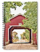 Shimanek Covered Bridge Spiral Notebook