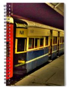 Shimla Toy Train Spiral Notebook
