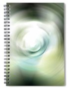 Shimmer - Energy Art By Sharon Cummings Spiral Notebook