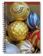 Shimmering Bauble Spiral Notebook