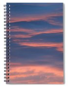 Shimmering Clouds Spiral Notebook