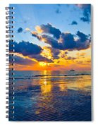 Shimmering Sundown Spiral Notebook