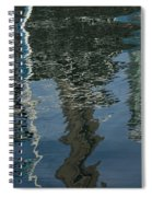 Shimmers Ripples And Luminosity Spiral Notebook