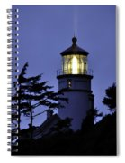 Shine On The Ocean Spiral Notebook