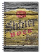Shiner Bock Spiral Notebook