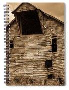 Shingle Barn Sepia 1 Spiral Notebook