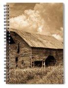 Shingle Barn Sepia 2 Spiral Notebook