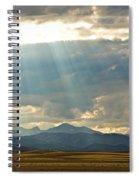 Shining Down Spiral Notebook