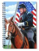 Shining Glory Spiral Notebook