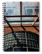 Shining Thru Spiral Notebook