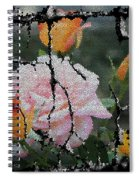 Shinning Roses Photo Manipulation Spiral Notebook