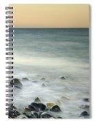 Shiny Rocks At The Sea Spiral Notebook