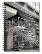 Shiodome Tokyo Stairs Spiral Notebook
