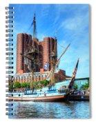 Ship Ahoy Spiral Notebook