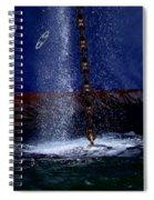 Ship At Anchor Spiral Notebook