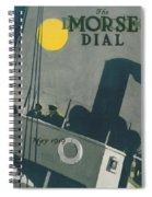 Ship At Night Spiral Notebook