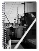 Ship Detail Spiral Notebook