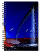 Ship - Gulf Of Mexico Spiral Notebook