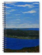 Ship Harbour From Sugarloaf Hill Spiral Notebook