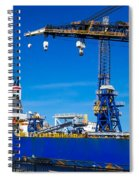 Ship In Port Spiral Notebook
