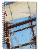 Ship Rigging Spiral Notebook