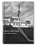 Ship Shape Spiral Notebook