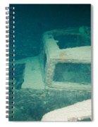 Ship Wreck With Trucks Spiral Notebook