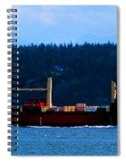Shipping Lane Spiral Notebook