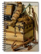 Shipping Out Spiral Notebook
